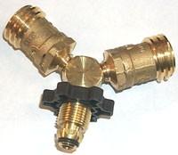 Mr Heater F271735 Propane Y Adapter Splitter