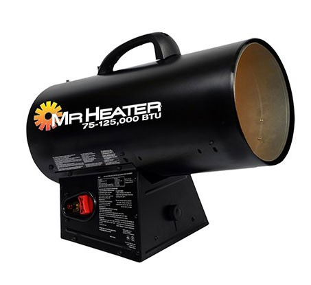 Mr Heater MH125QFAV Forced Air Heater