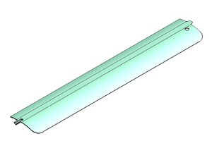 Modine Hot Dawg Deflector Blade Louver 5H62892-2