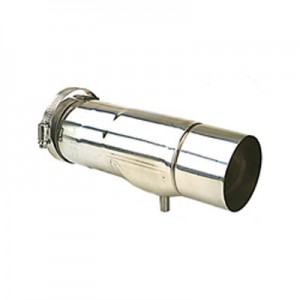 "Z Vent III Condensate Drain Stainless Steel Vent Pipe 3"" Diameter"